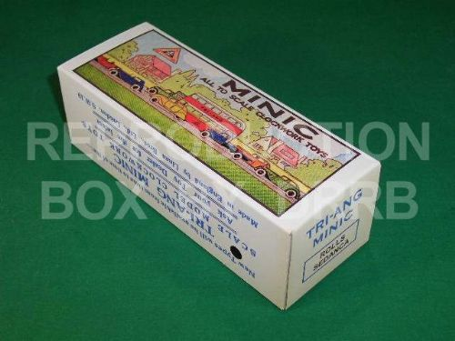 Minic #42M Rolls Sedanca - Reproduction Box